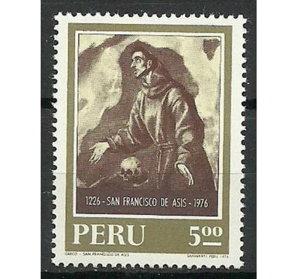 Znaczek Peru 1976 Mi 1026 Czyste **