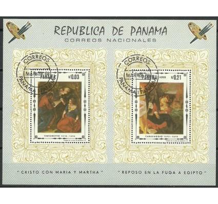 Znaczek Panama 1968 Mi bl 81 Stemplowane