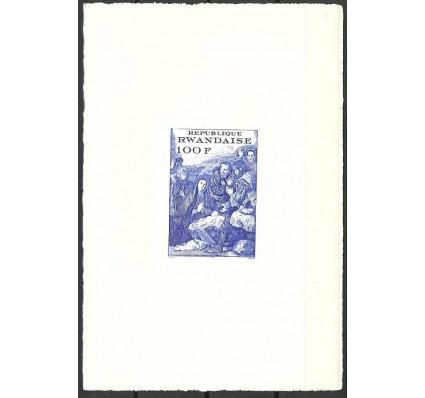 Znaczek Rwanda 1970 Mi lx bl 25B Czyste **