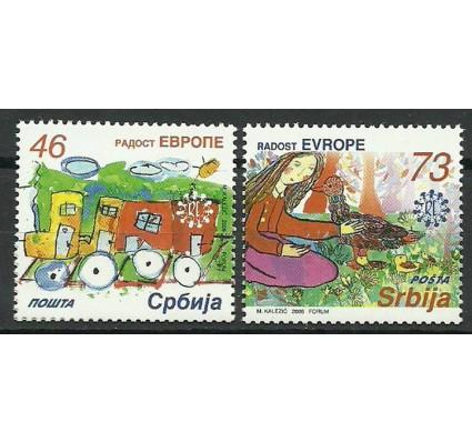 Znaczek Serbia 2006 Mi 150-151 Czyste **