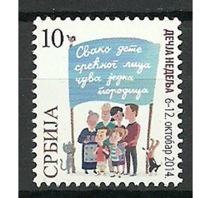 Znaczek Serbia 2014 Mi zwa 70 Czyste **