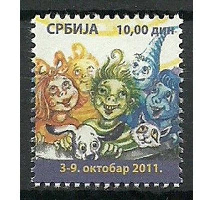 Znaczek Serbia 2011 Mi zwa 43 Czyste **