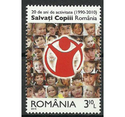 Znaczek Rumunia 2010 Mi 6444 Czyste **