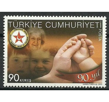 Znaczek Turcja 2011 Mi 3899 Czyste **
