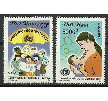 Znaczek Wietnam 1997 Mi 2856-2857 Czyste **