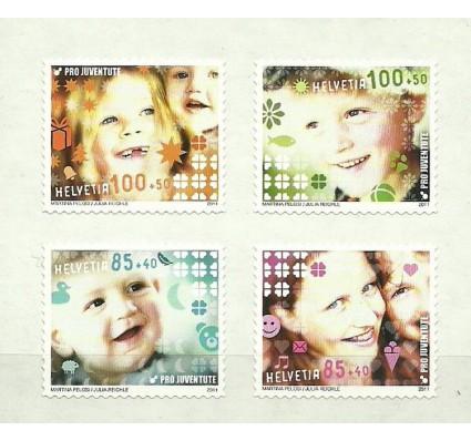 Znaczek Szwajcaria 2011 Mi 2228-2231 Czyste **
