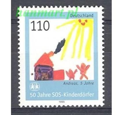 Niemcy 1999 Mi 2062 Czyste **