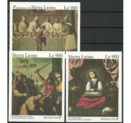 Znaczek Sierra Leone 1992 Mi bl 192-194 Czyste **