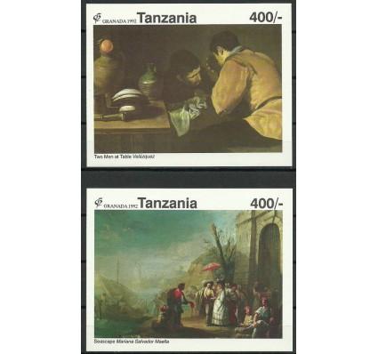 Znaczek Tanzania 1992 Mi bl 185-186 Czyste **