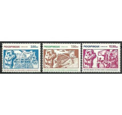 Znaczek Mozambik 1981 Mi 785-787 Czyste **