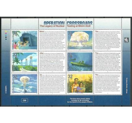 Znaczek Wyspy Marshalla 1996 Mi ark 723-728 Czyste **