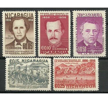 Znaczek Nikaragua 1956 Mi 1111-1115 Czyste **
