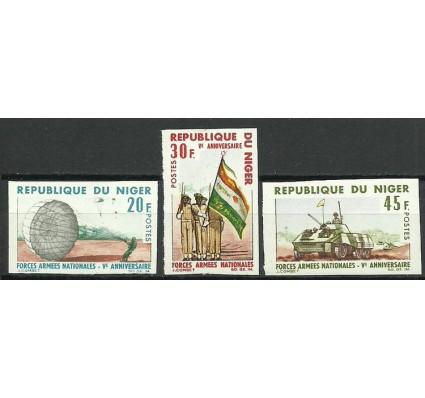 Znaczek Niger 1966 Mi 132-134B Czyste **