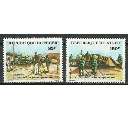 Znaczek Niger 1983 Mi 843-844 Czyste **