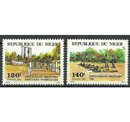 Znaczek Niger 1984 Mi 883-884 Czyste **