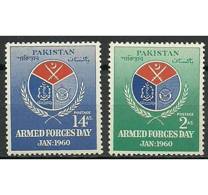 Znaczek Pakistan 1960 Mi 106-107 Czyste **