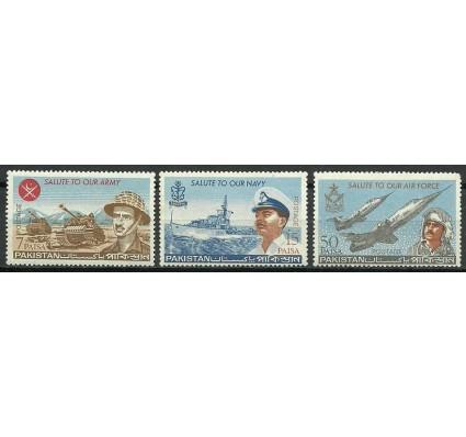 Znaczek Pakistan 1965 Mi 221-223 Czyste **