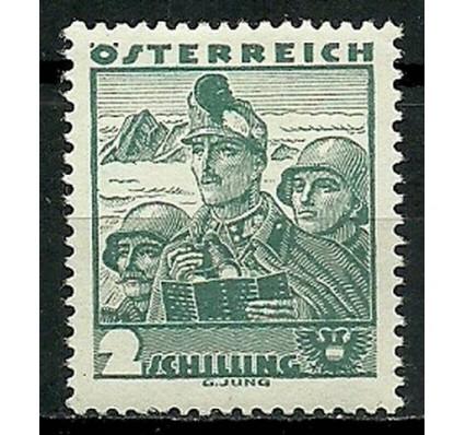 Znaczek Austria 1934 Mi 584 Z podlepką *