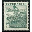 Austria 1934 Mi 584 Z podlepką *