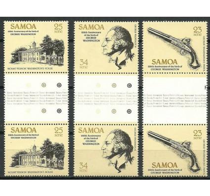 Znaczek Samoa 1982 Mi 473-475 Czyste **