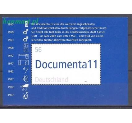 Niemcy 2002 Mi bl 58 Czyste **