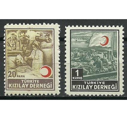 Znaczek Turcja 1953 Mi zwaB175-176 Czyste **