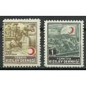 Turcja 1953 Mi zwaB175-176 Czyste **