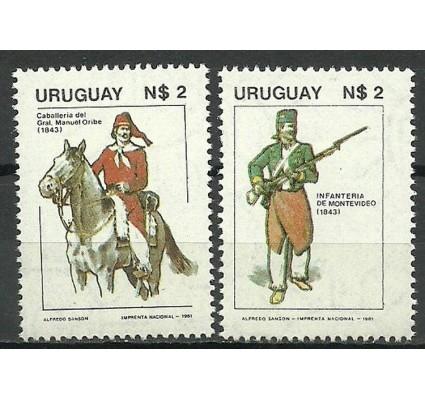Znaczek Urugwaj 1981 Mi 1618-1619 Czyste **