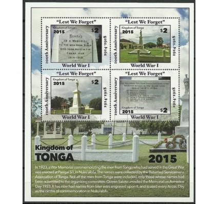 Znaczek Tonga 2016 Mi bl 101 Czyste **