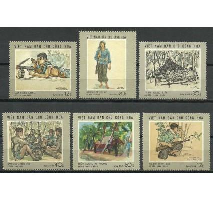 Znaczek Wietnam 1969 Mi 575-580 Czyste **