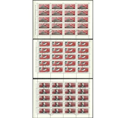 Znaczek Polska 1967 Mi ark 1793-1795 Fi ark 1644-1646 Stemplowane