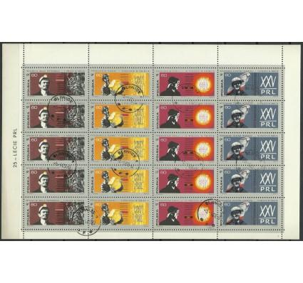 Znaczek Polska 1969 Mi ark 1936-1939 Fi ark 1789-1792 Stemplowane