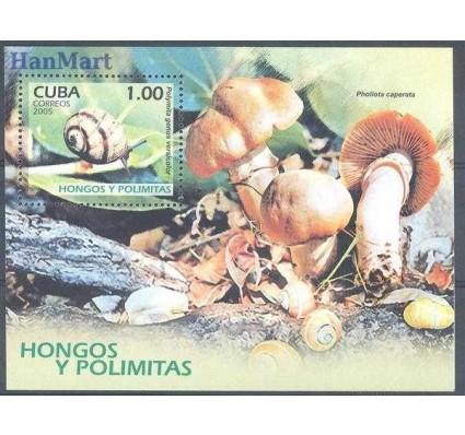 Znaczek Kuba 2005 Mi bl 208 Czyste **