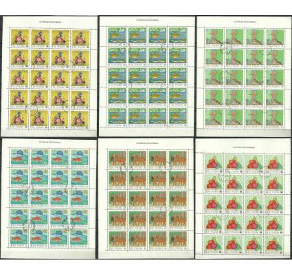 Znaczek Polska 1983 Mi ark 2850-2855 Fi ark 2702-2707 Stemplowane