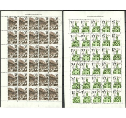 Znaczek Polska 1986 Mi ark 3016-3017 Fi ark 2869-2870 Stemplowane