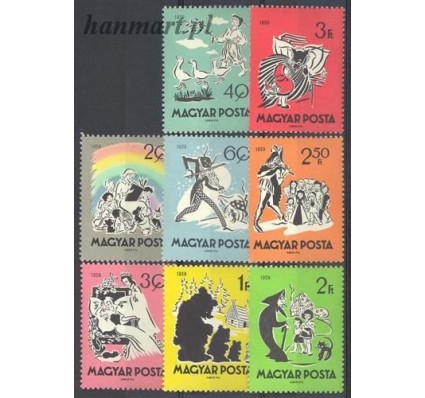 Węgry 1959 Mi 1642-1649 Czyste **