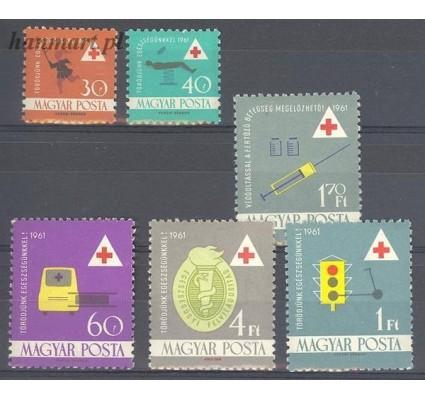 Znaczek Węgry 1961 Mi 1747-1752 Czyste **