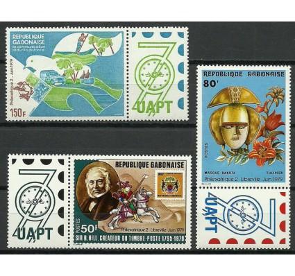 Znaczek Gabon 1979 Mi zf 699-701 Czyste **