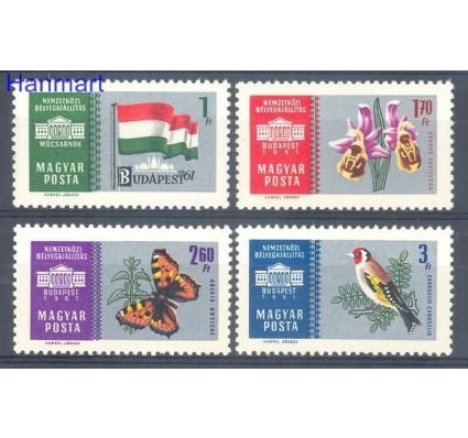 Węgry 1961 Mi 1765-1768 Czyste **