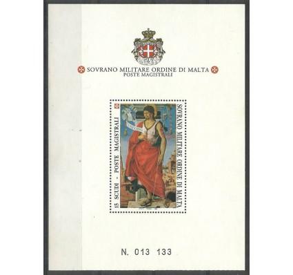 Znaczek Zakon Maltański 1994 Mi bl 43 Czyste **