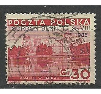 Znaczek Polska 1936 Mi 313 Fi 292 Stemplowane