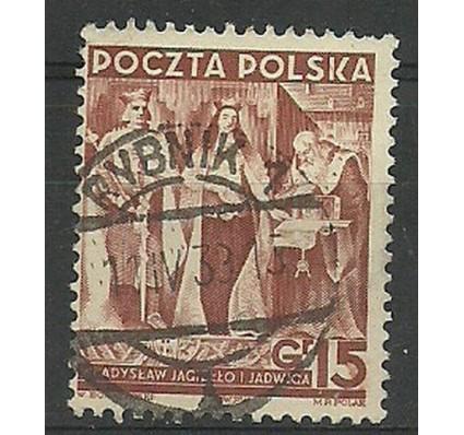 Znaczek Polska 1939 Mi 355 Fi 334 Stemplowane
