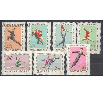 Znaczek Węgry 1963 Mi 1898-1904 Czyste **