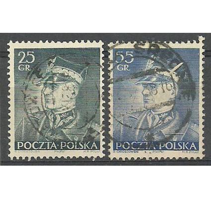 Znaczek Polska 1937 Mi 319-320 Fi 298-299 Stemplowane