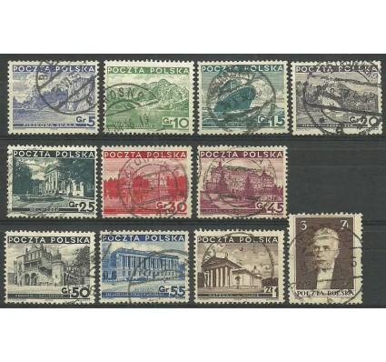 Znaczek Polska 1935 Mi 301-311 Fi 280-290 Stemplowane