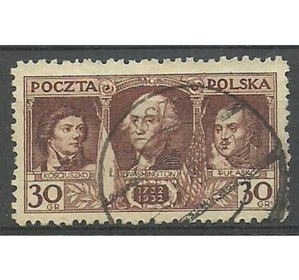 Znaczek Polska 1932 Mi 271 Fi 250 Stemplowane
