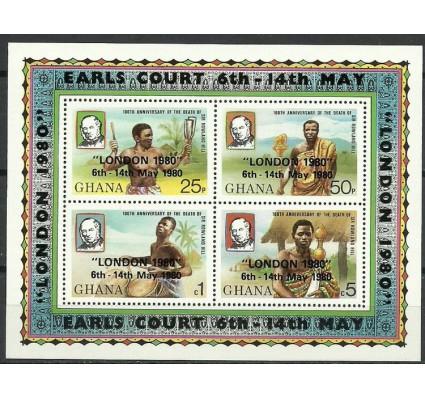 Znaczek Ghana 1980 Mi bl 83 Czyste **