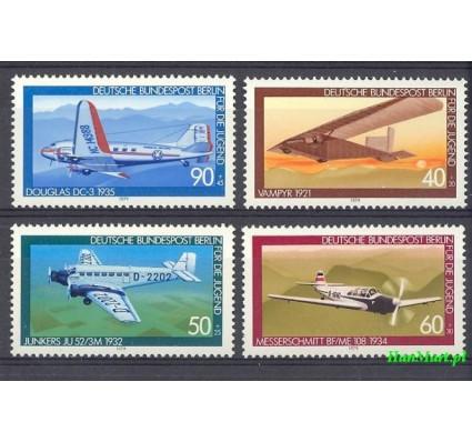 Berlin Niemcy 1979 Mi 592-595 Czyste **