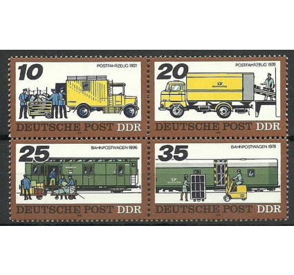 Znaczek NRD / DDR 1978 Mi 2299-2302 Czyste **