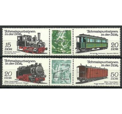 Znaczek NRD / DDR 1983 Mi 2792-2795 Czyste **